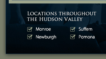 Locations Throughout the Hudson Valley